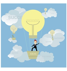 Good ideas and success vector image