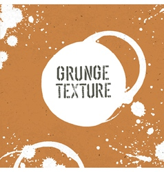 Grunge texture with stains vector