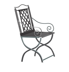 Forged chair vector