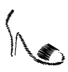 Abstract logo for designer footwear vector image vector image