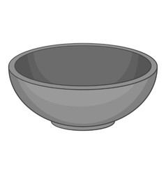 Bowl icon cartoon style vector image vector image