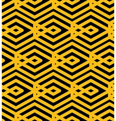 Endless texture with parallel yellow lines motif vector