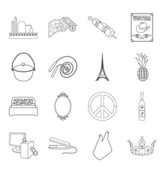 Fishing sport technology and other web icon in vector