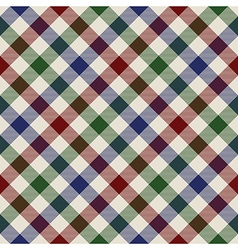 Plaid material green red blue seamless pattern vector