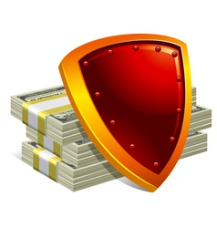 protection of money and payments detailed vector image