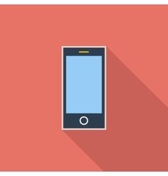 Smartphone single icon vector