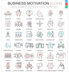 Business motivation and discipline ultra vector image vector image