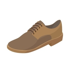 Men shoe icon cartoon style vector image vector image
