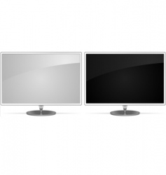monitors vector image vector image