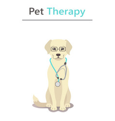 Pet therapy series vector