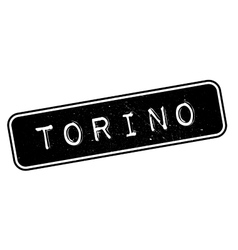 Torino rubber stamp vector