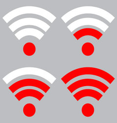 Wi fi signal strength vector
