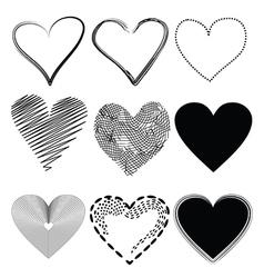 heart icon2 vector image