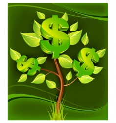 dollar tree vector image