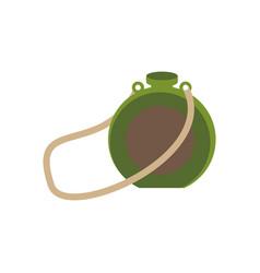 tourist flask vector image