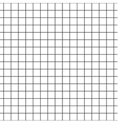 checkered notebook paper seamless pattern vector image