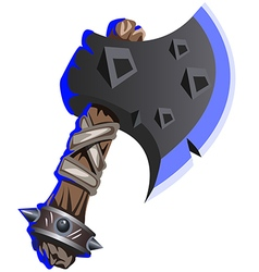 Iron axe vector