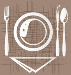 dining vector image vector image
