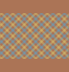 gray brown check diagonal fabric texture vector image