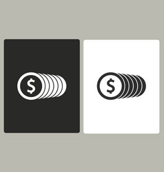 salary - icon vector image vector image