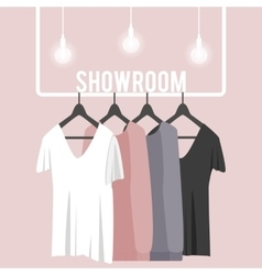 with showroom vector image
