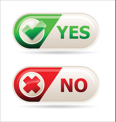 Yes and no sign of product quality and choice vector
