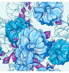 Beautiful Seamless Floral Background vector image