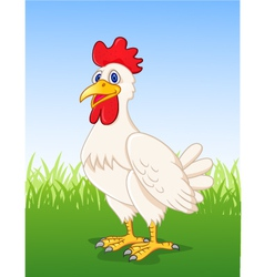 Hen cartoon vector