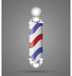 Barber shop design hair salon Stylist icon vector image