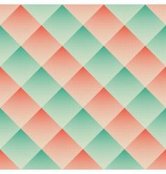 halftoned rhombus vector image vector image