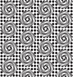 Spot twirl background vector