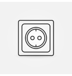 European electrical outlet vector