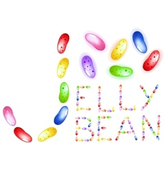 Jelly beans vector
