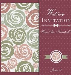 Endless floral vintage pattern vector