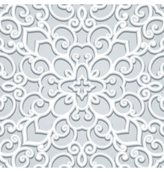 Grey lace vector