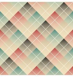 Halftone rhombus vector image