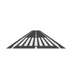 Crosswalk path pedestrian crossing perspective vector