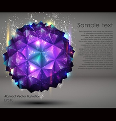 Abstract geometric ball background vector