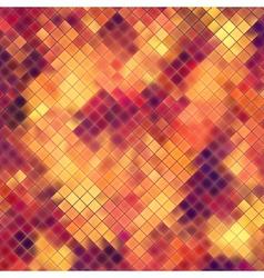 Mosaic orange abstract EPS 10 vector image vector image