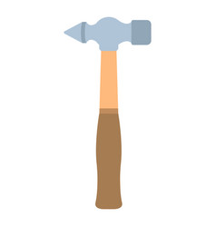 sledgehammer icon tool isolated construction vector image vector image