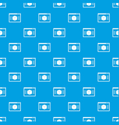 3d model pattern seamless blue vector image vector image