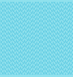 Abstract blue floral seamless pattern background vector