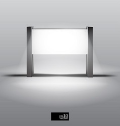 Blank lightbox vector