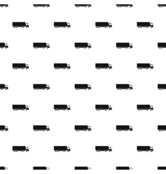 Truck pattern simple style vector