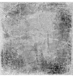 Gray grunge background old texture vector