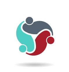 Freelance Team Logo vector image