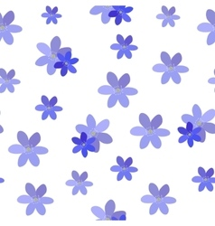 Abstract simple flower seamless pattern background vector