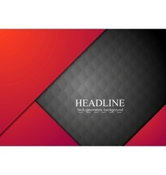 Dark red corporate abstract background vector