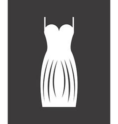 woman clothes design vector image