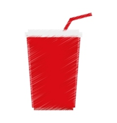 Isolated soda drink design vector